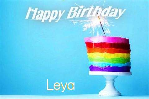 Happy Birthday Wishes for Leya