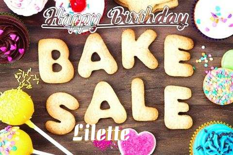 Happy Birthday Lilette