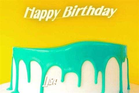 Happy Birthday Lisa Cake Image