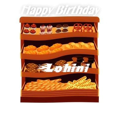 Happy Birthday Cake for Lohini
