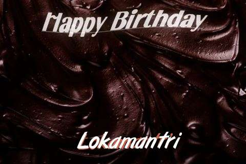 Happy Birthday Lokamantri Cake Image