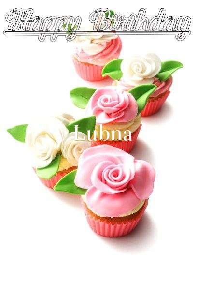 Happy Birthday Cake for Lubna