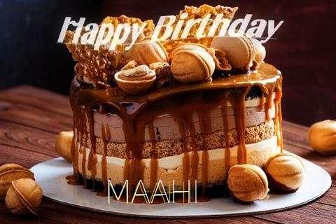Happy Birthday Wishes for Maahi