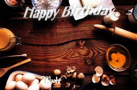 Happy Birthday to You Maahi