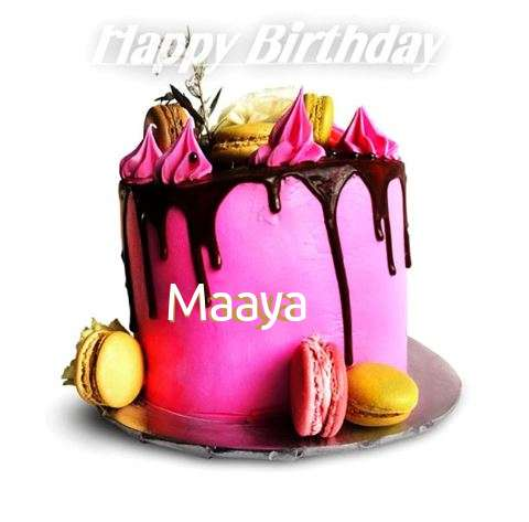 Birthday Wishes with Images of Maaya