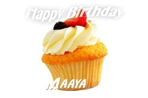 Birthday Images for Maaya