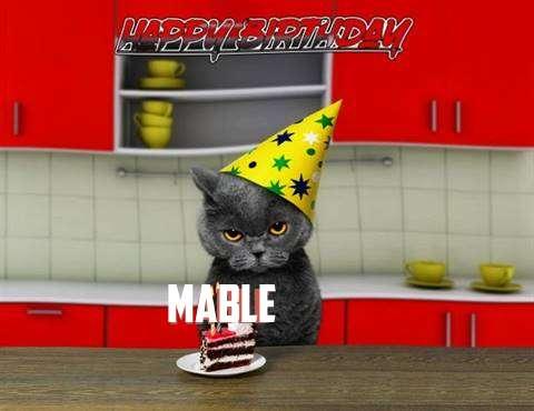 Happy Birthday Mable