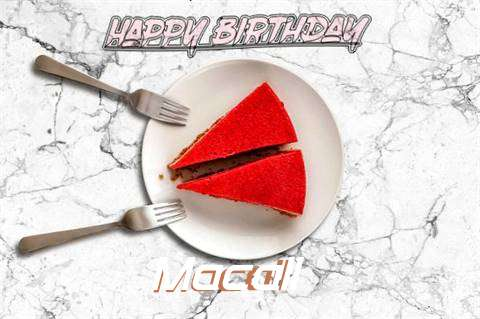 Happy Birthday Macall