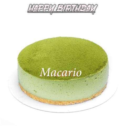 Happy Birthday Cake for Macario
