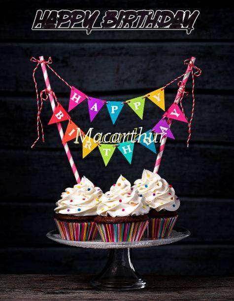 Happy Birthday Macarthur