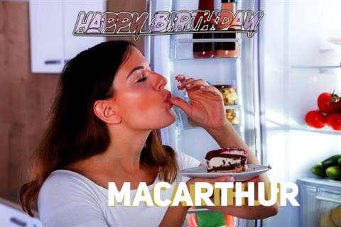 Happy Birthday to You Macarthur
