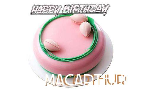 Happy Birthday Cake for Macarthur