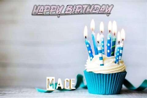 Happy Birthday Mace Cake Image