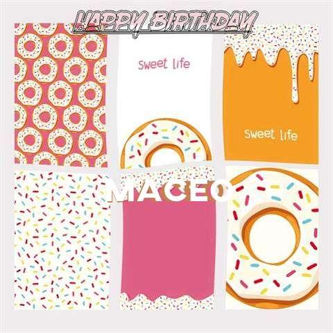 Happy Birthday Cake for Maceo