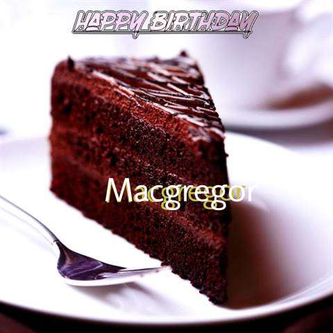 Happy Birthday Macgregor