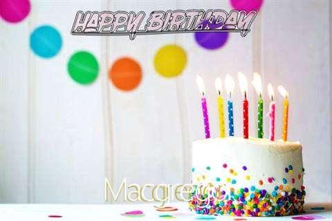 Happy Birthday Cake for Macgregor