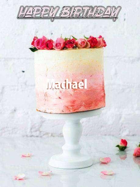Happy Birthday Cake for Machael