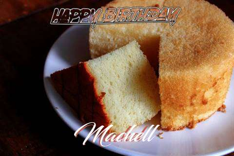 Happy Birthday to You Machell