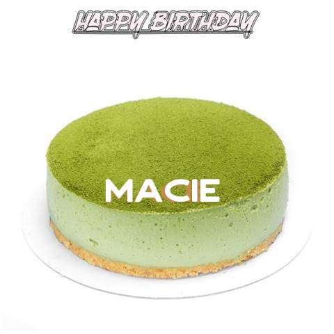 Happy Birthday Cake for Macie