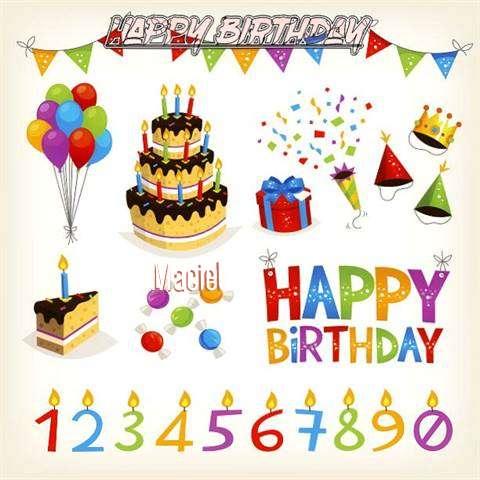 Birthday Images for Maciel
