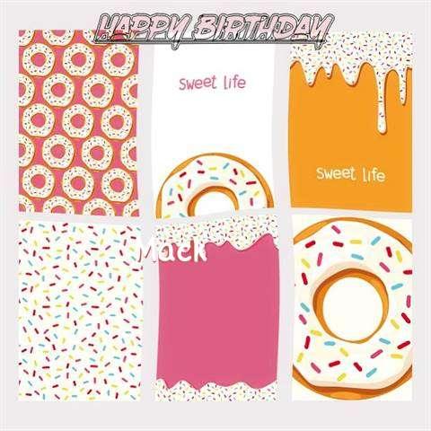 Happy Birthday Cake for Mack