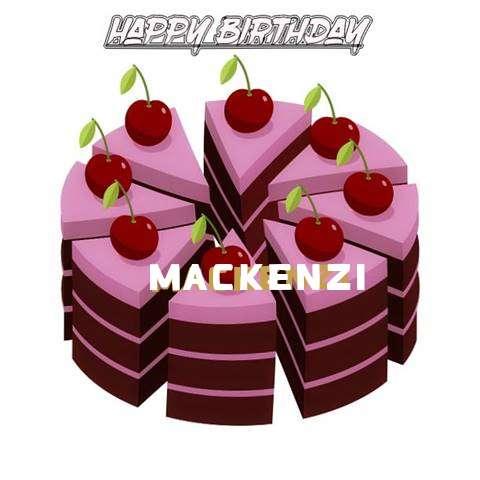 Happy Birthday Cake for Mackenzi