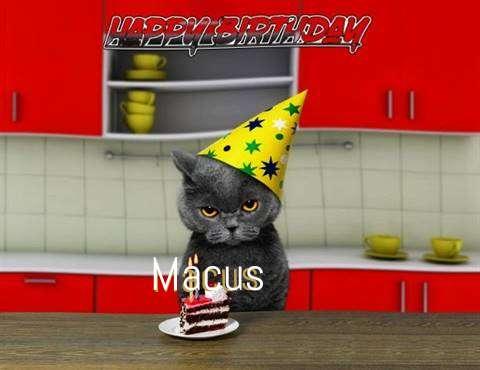 Happy Birthday Macus