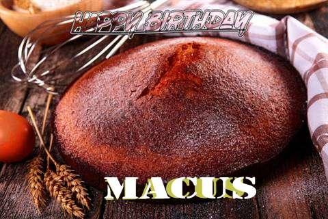 Happy Birthday Macus Cake Image