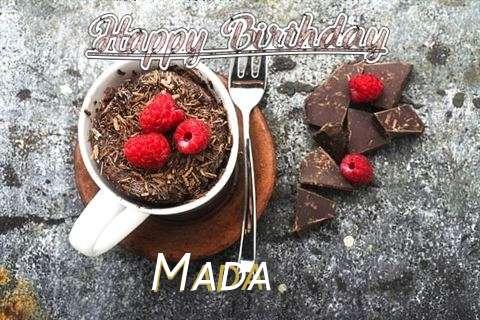 Happy Birthday Wishes for Mada
