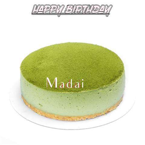Happy Birthday Cake for Madai