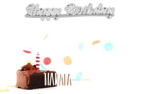 Happy Birthday Cake for Madala