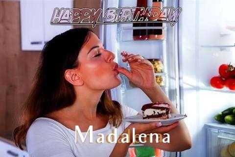 Happy Birthday to You Madalena