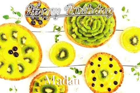 Happy Birthday Madan Cake Image
