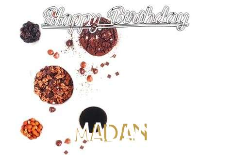 Happy Birthday Wishes for Madan