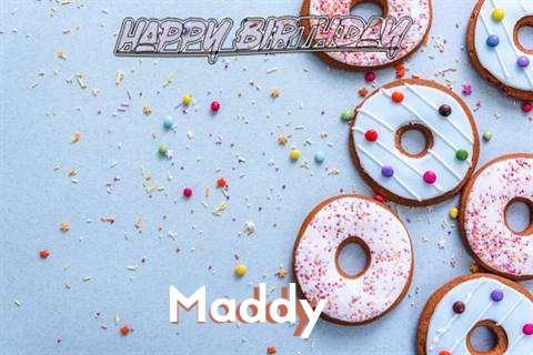 Happy Birthday Maddy Cake Image