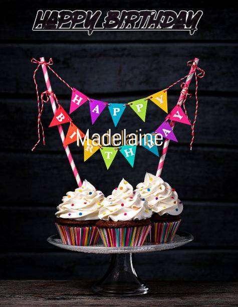 Happy Birthday Madelaine