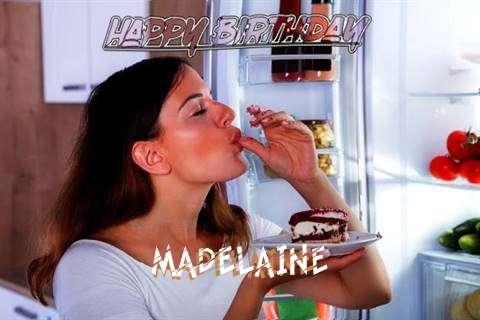 Happy Birthday to You Madelaine