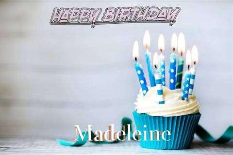 Happy Birthday Madeleine Cake Image