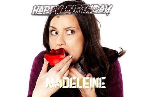 Happy Birthday Wishes for Madeleine