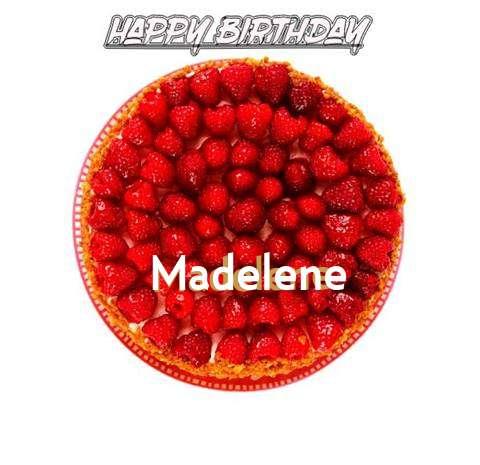 Happy Birthday to You Madelene