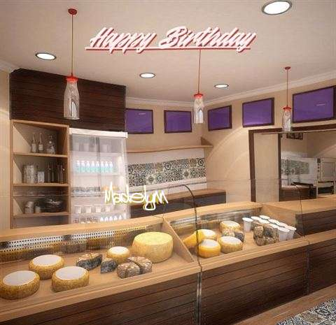 Happy Birthday Wishes for Madelynn