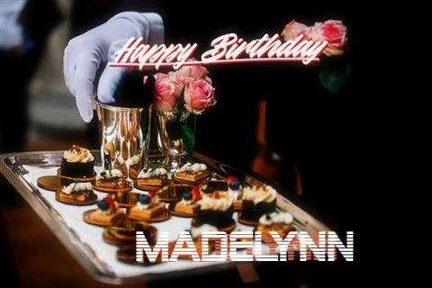 Happy Birthday Cake for Madelynn