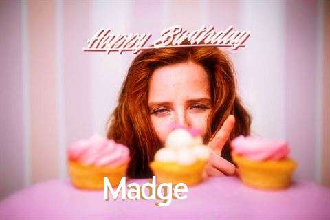 Happy Birthday Cake for Madge