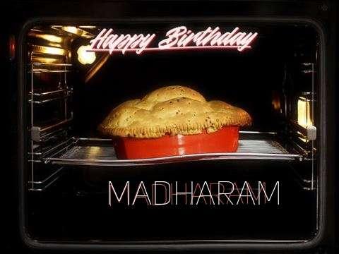 Happy Birthday Cake for Madharam