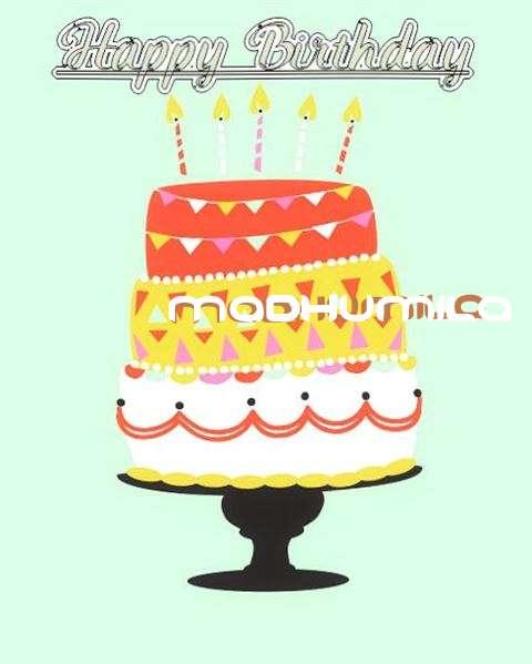 Happy Birthday Madhumila Cake Image