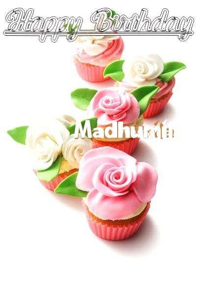Happy Birthday Cake for Madhumila