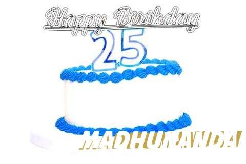 Happy Birthday Madhunandan Cake Image