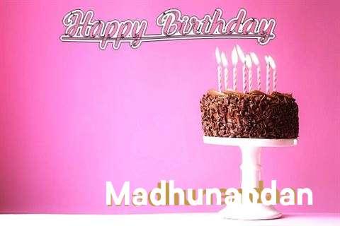 Happy Birthday Cake for Madhunandan