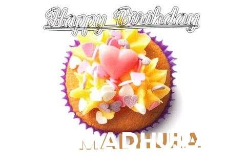 Happy Birthday Madhura Cake Image