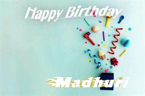 Happy Birthday Wishes for Madhuri